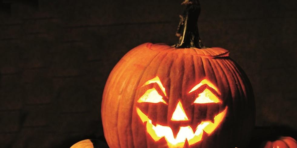 """Halloween..."" Visite intriguante"