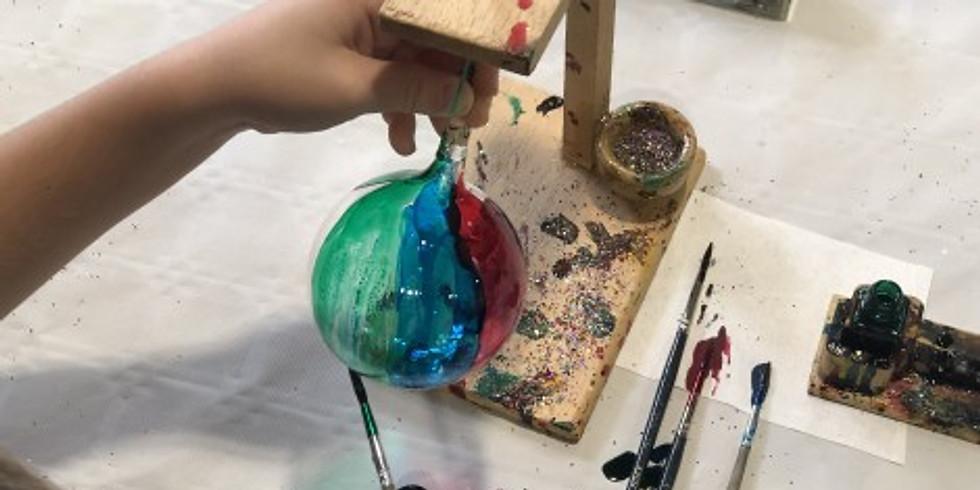 Atelier boules de noël