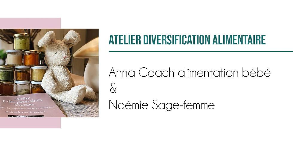 Atelier Diversification Alimentaire