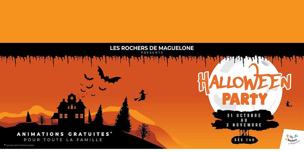 Halloween Party - Les Rochers de Maguelone