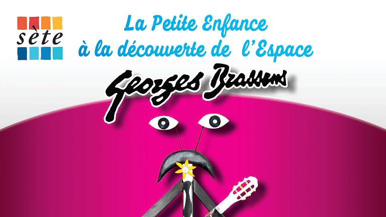 La petite enfance à la découverte de l'espace Georges Brassens