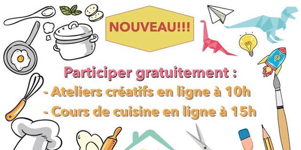 Ateliers créatifs et de cuisine - Les Ateliers d'Arthur