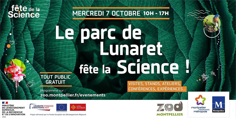 Le Parc de Lunaret fête la Science !