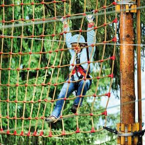 La Forêt d'acrobates - Montagnac