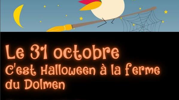 Halloween à la ferme du Dolmen