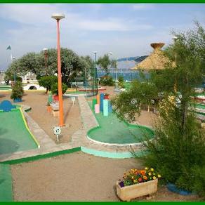 Minigolf de la plage - Palavas-les-Flots