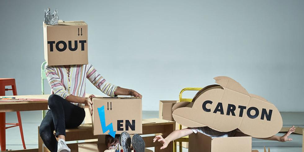 """Ateliers & Exposition Jeune Public : """"Tout en Carton"""""""