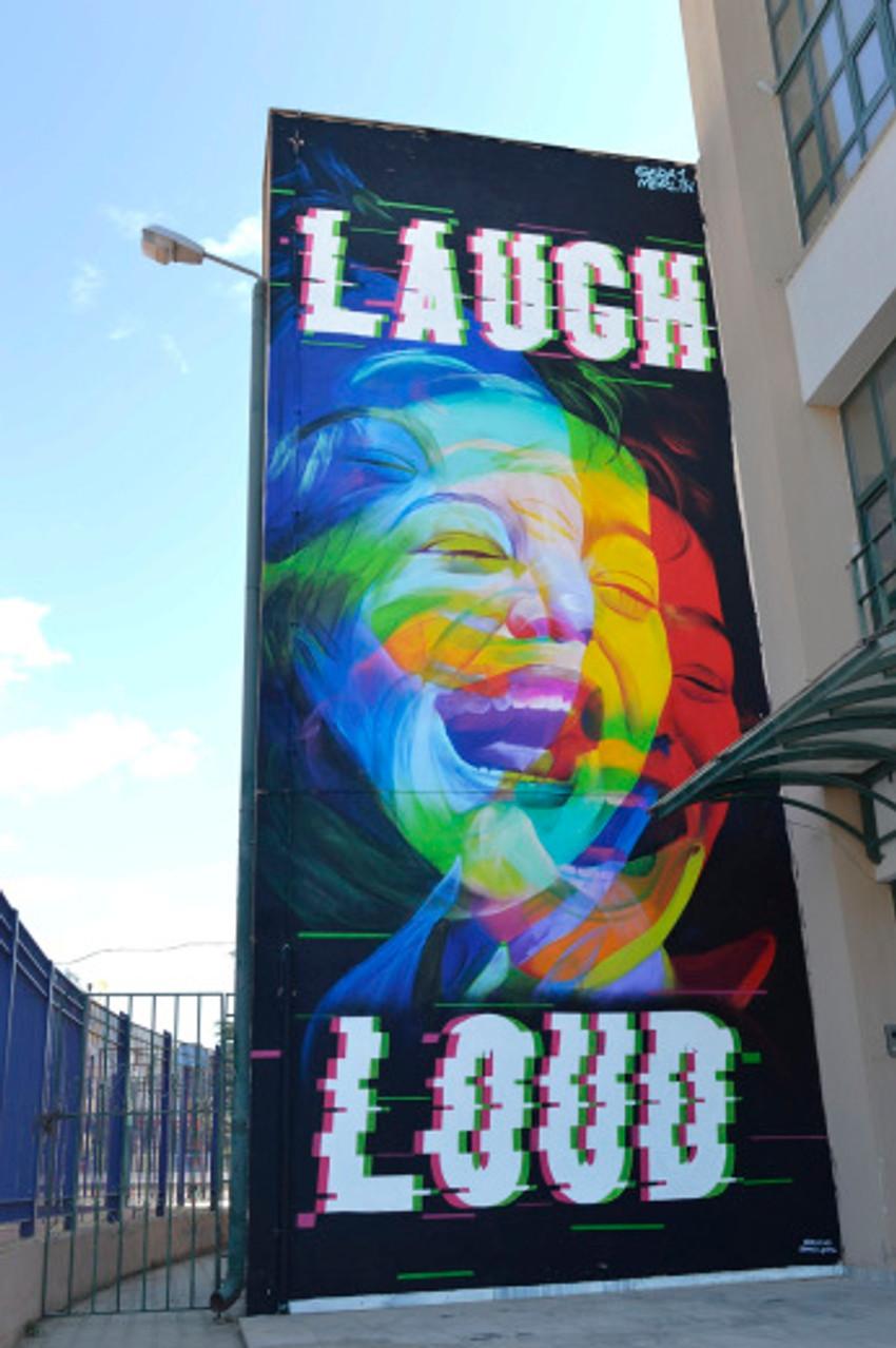 'Laugh Loud' Thessaloniki Greece 2018