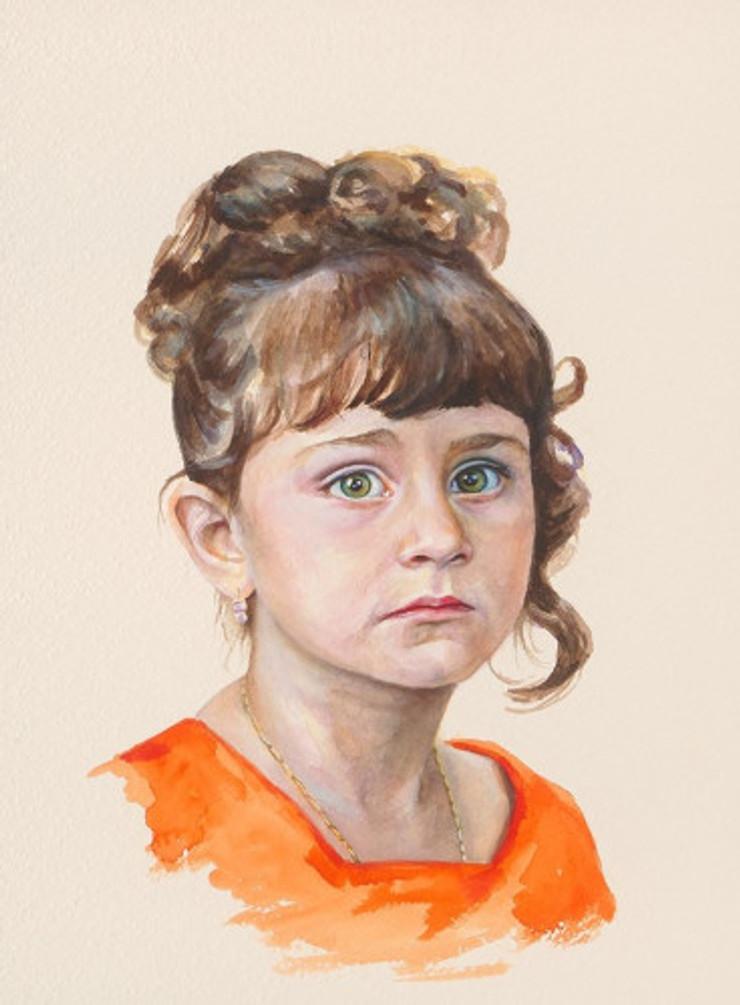 Πορτρέτο,ακουαρέλα σε χαρτί,28Χ38 cm.,2017(1)