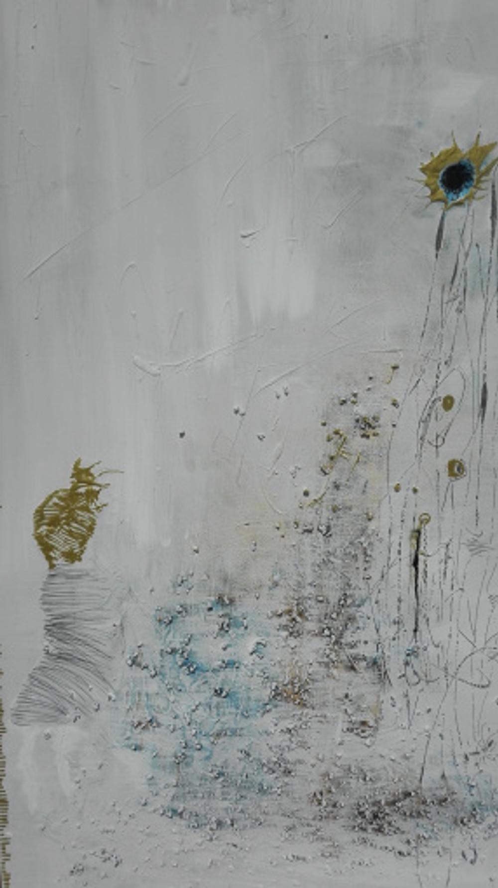 Άτιτλο, Μεικτή τεχνική, 2016