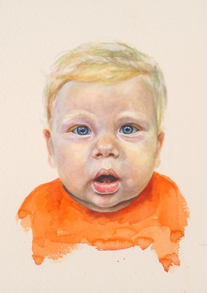 πορτρέτο,ακουαρέλα σε χαρτί,28Χ38 cm.,2017_3