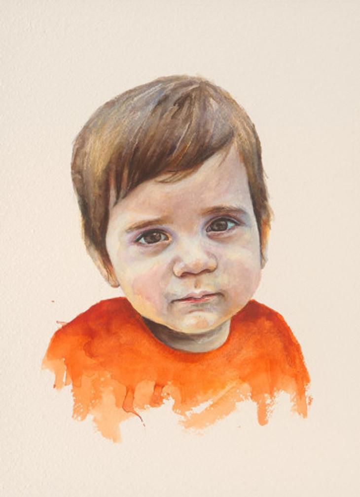 πορτρέτο,ακουαρέλα σε χαρτί,28Χ38 cm.,2017_4