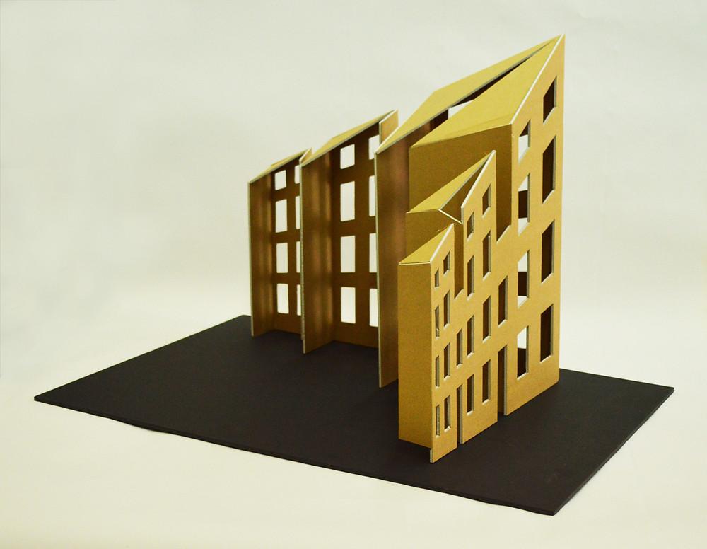 3. Οικοδομικό τετράγωνο, 50 x 70 x 50 εκ., κατασκευή, 2015