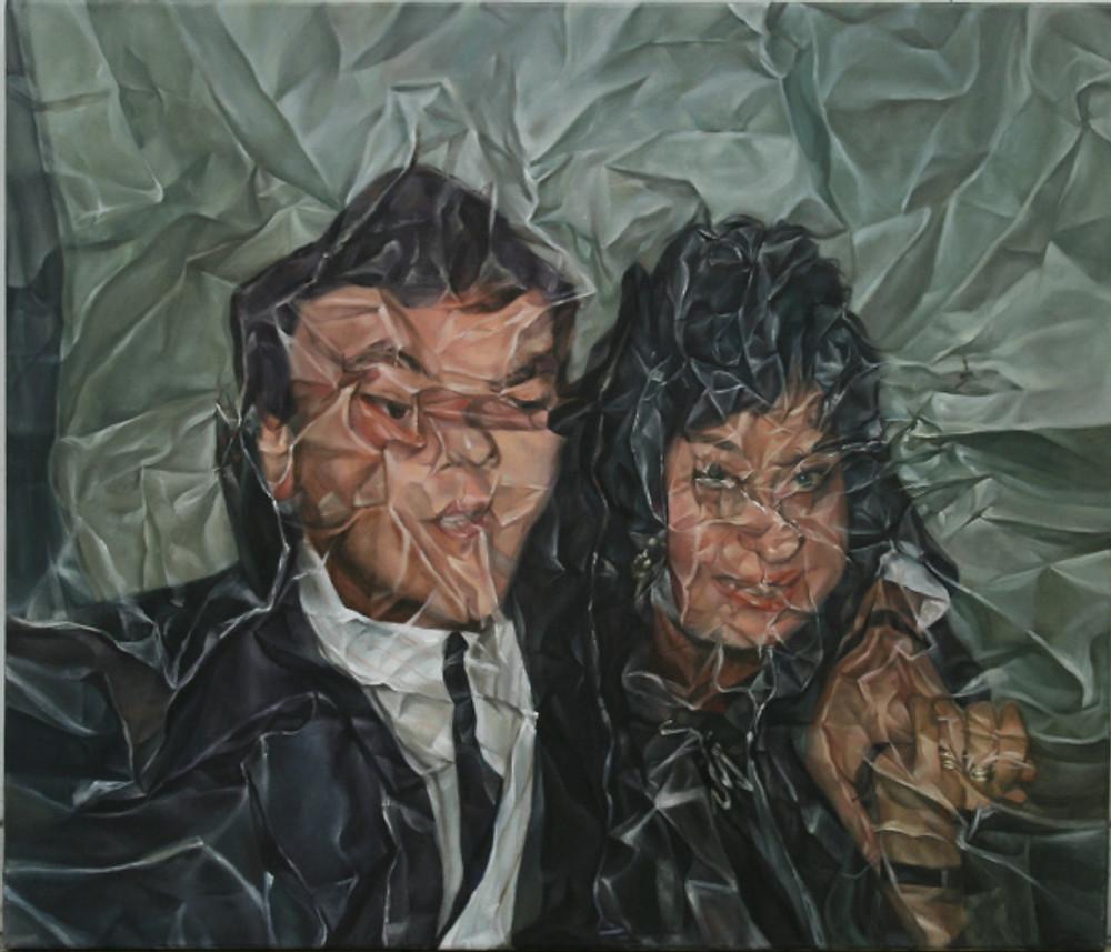 Άτιτλο, 2017,λάδι σε καμβά, 70 x 60