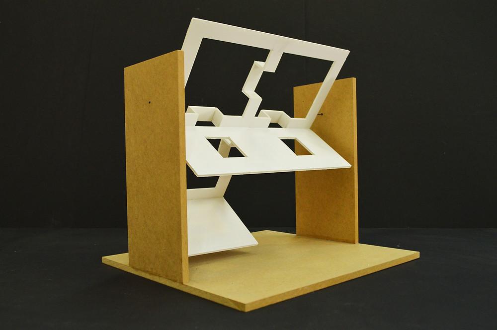 5. Δοκιμή περιστροφής, 30 x 32 x 31 εκ., κατασκευή, 2014