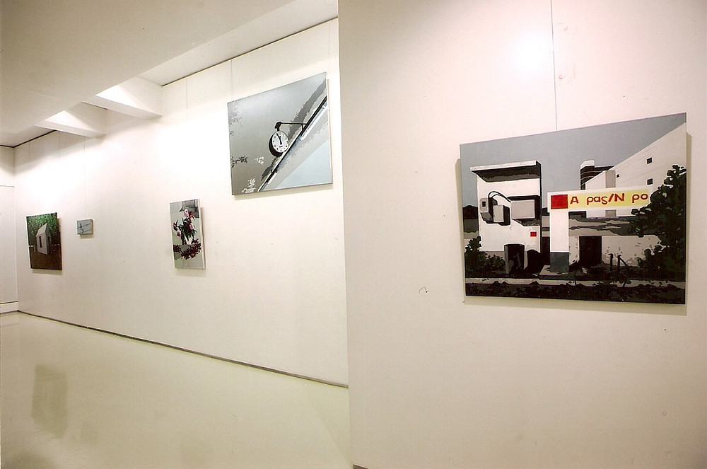 4-Grey Stories-solo exhibition-Installation view-2010
