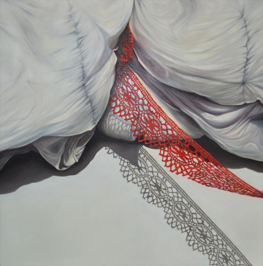 άτιτλο, 150Χ150 εκ, λάδι σε μουσαμά, 2016 untitled, 150X150cm, oil on canvas, 2016