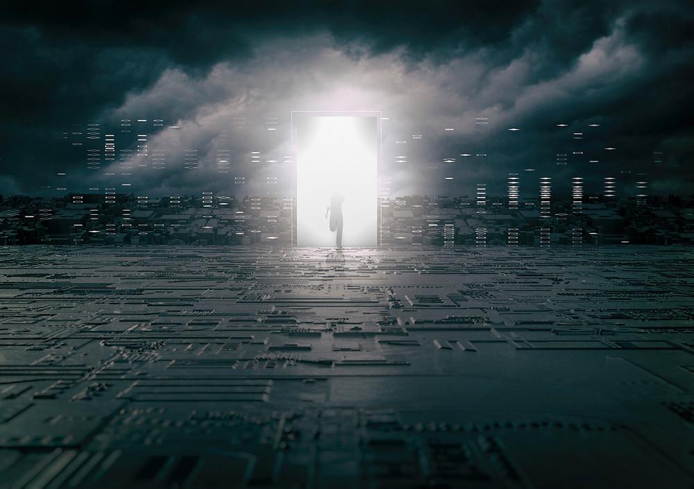Parallel Universe_digital art_2017