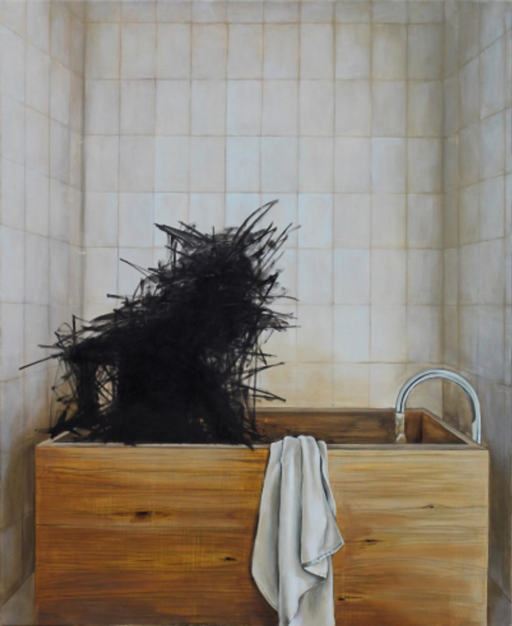 Άτιτλο, 150 x 130 cm, λάδι σε καμβά, 2018