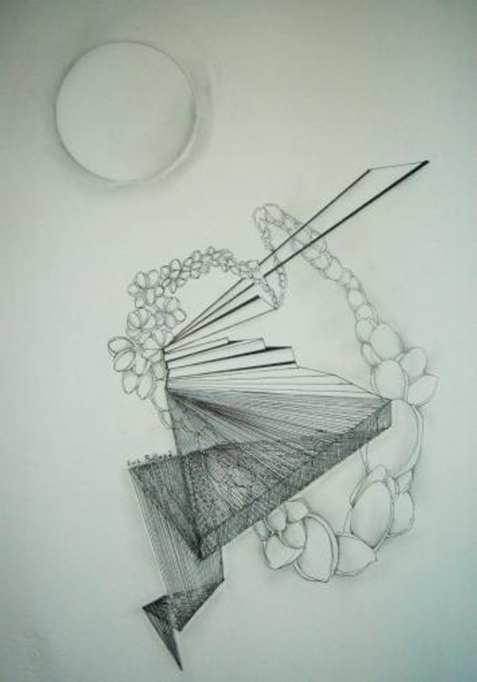 21X24 Εσωτερικός μηχανισμός,ισορροπία,mixed media 2012