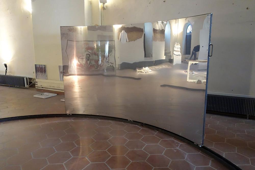 Transparency plexiglass iron train lines stainless steel (2)