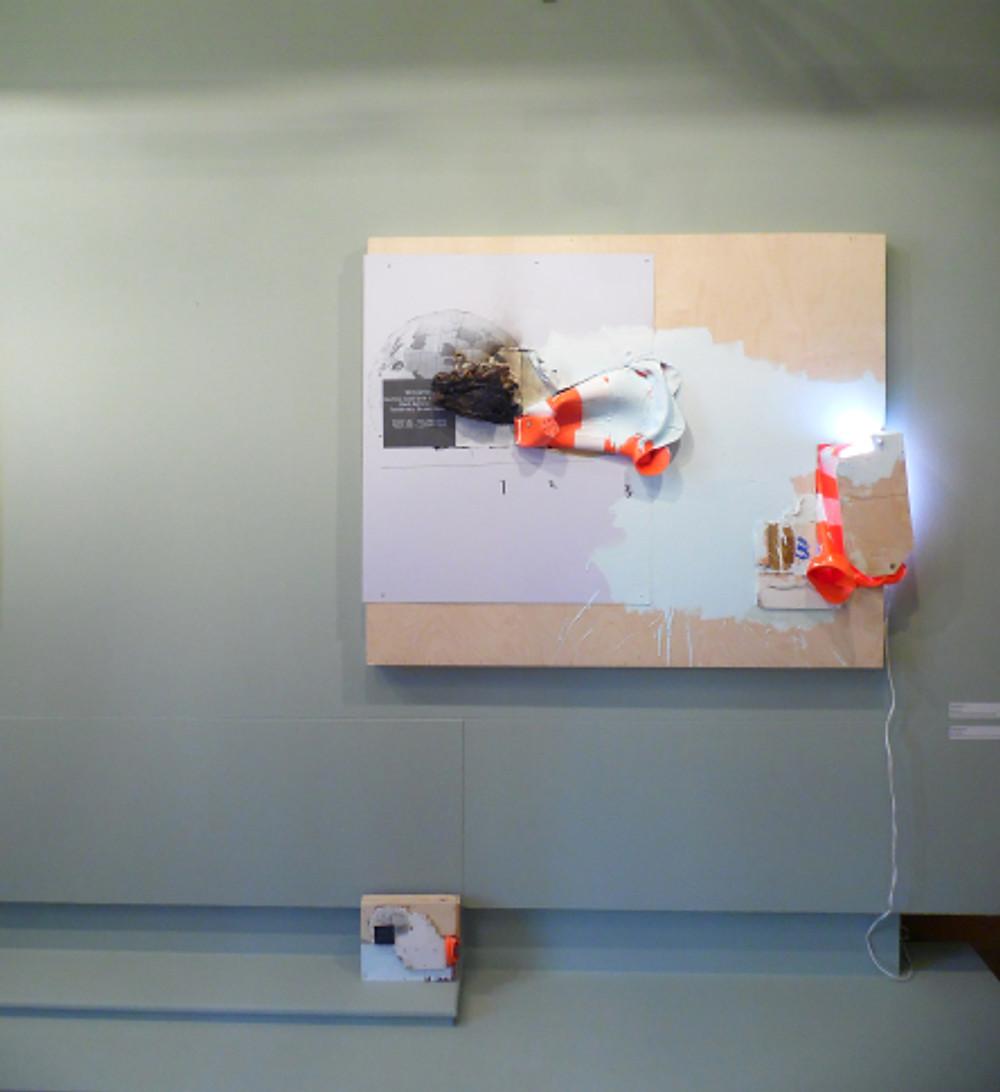 6.Γιώργος Μιχαλόπουλος απο την έκθεση του 5ου εργαστηρίου στη Δημοτική πινακοθήκη casa bianca 2018