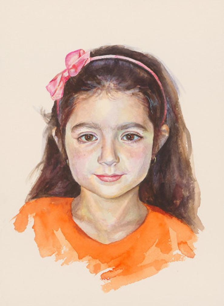 πορτρέτο,ακουαρέλα σε χαρτί,28Χ38 cm.,2017_1