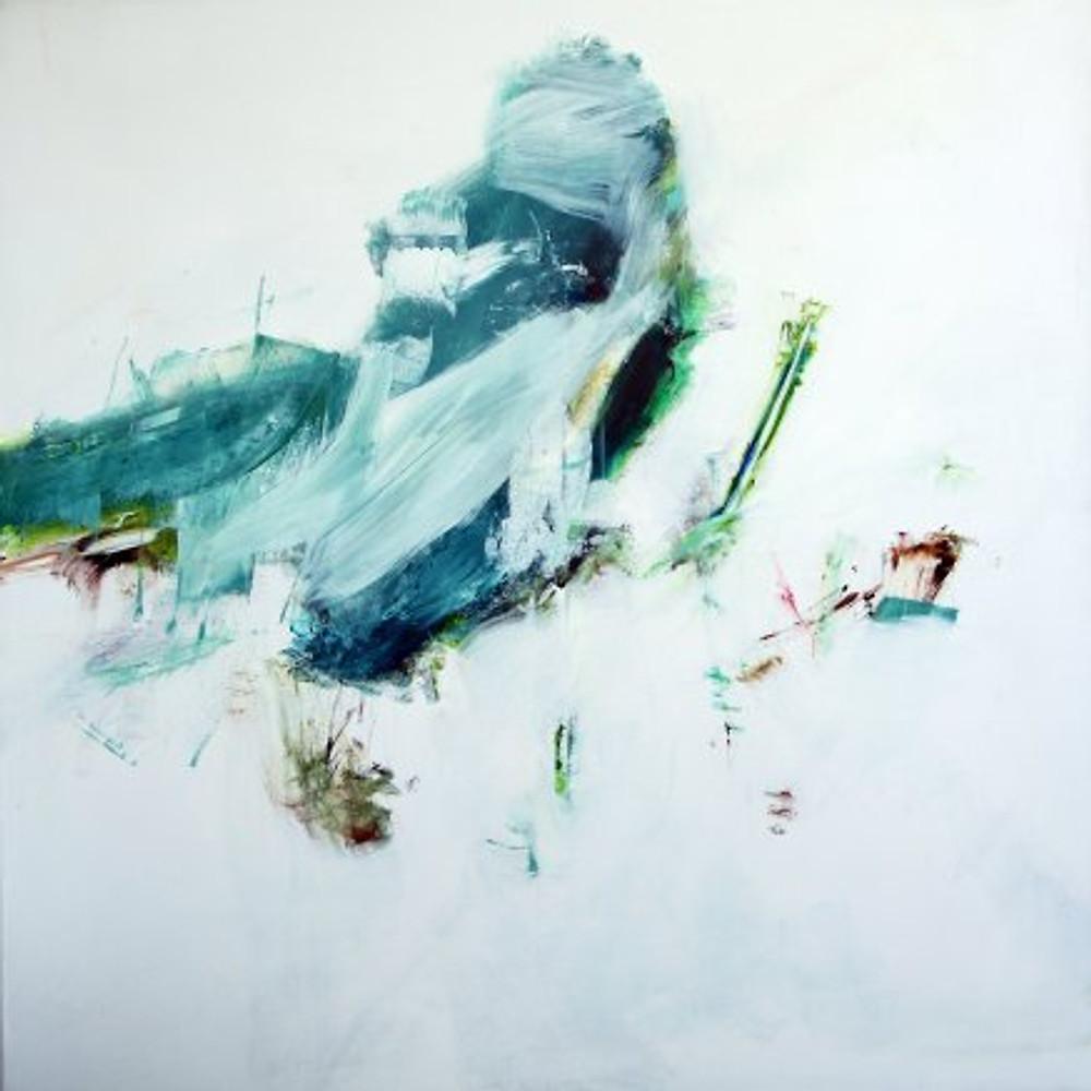nikos kryonidis 140x140 cm acrylics on canvas 2016