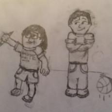 Kyan & Logan Cartoon