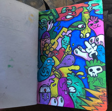 Kyan's Book of Doodles