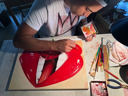 "Oscar Correa Artist, ""Juicy"""