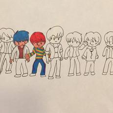 Cartoon Boy Band