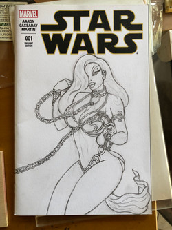 Jessica Rabbit as Princess Leia