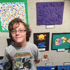 Kyan Correa art contest winner