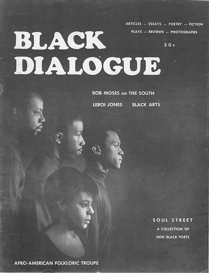 Black Dialogue, Vol. 1 No. 2