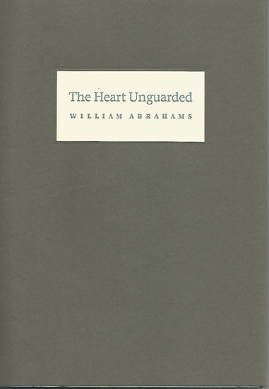 The Heart Unguarded