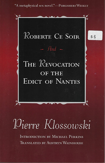 Robert Ce Soir & The Revocation of the Edict of Nantes