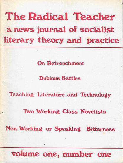 The Radical Teacher Vol. 1, Nos. 1-7