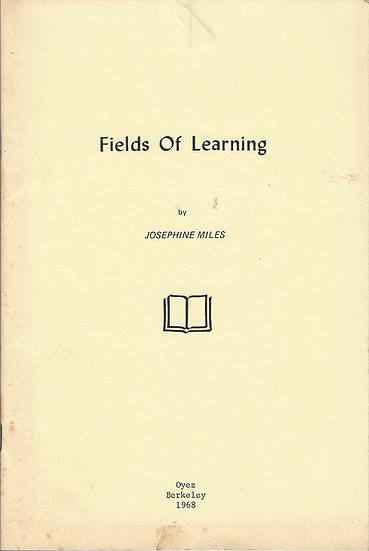 Fields of Learning