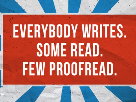 Importance of editing and proofreading for manuscript development