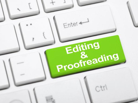 What is the difference between editing and proofreading?