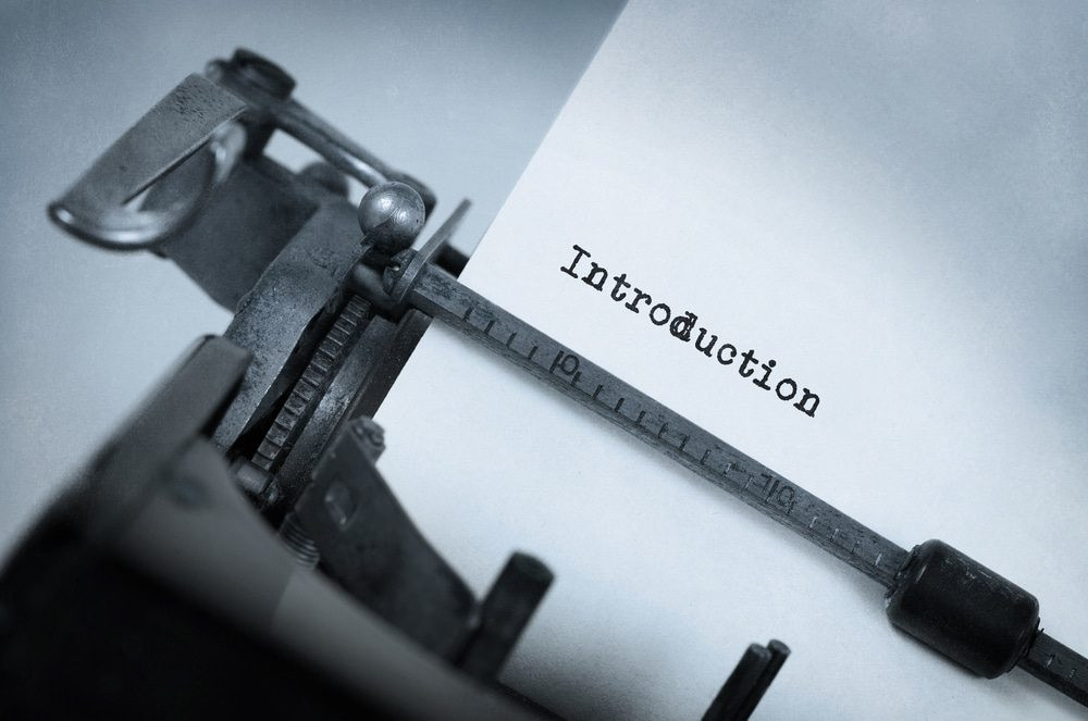 Thesis writing or dissertation writing introduction