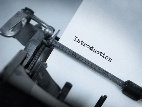 Writing an introduction for thesis or dissertation