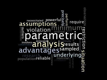 Statistical analysis: The advantages of non-parametric methods