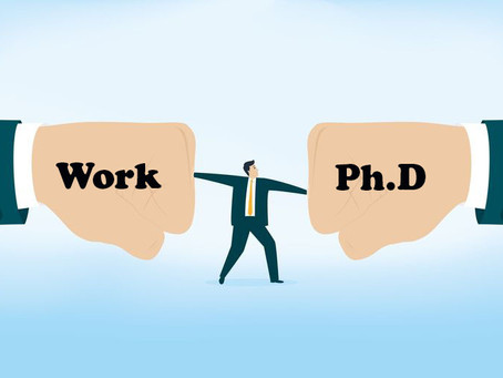 Do you think Ph.D is stressful? Then how to be dealt with?