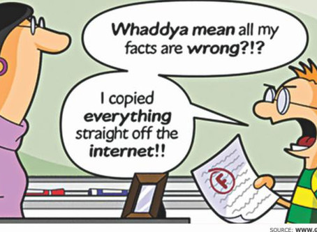 The necessity of plagiarism awareness among research students