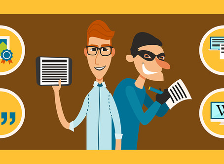 Is plagiarism a crime?