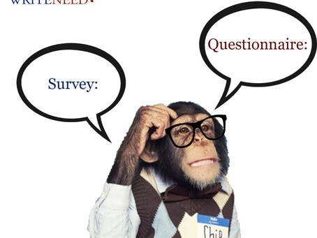 Are you using a survey or questionnaire to collect data? or confuse to choose? Suggestions for resea