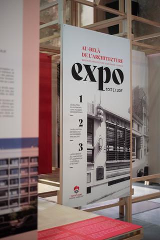 """Exposition """"Au-delà de l'architecture"""""""