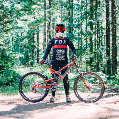 """""""Cumberland Hot Lap"""" gets PinkBike homepage and 'Movies for Your Monday' features."""